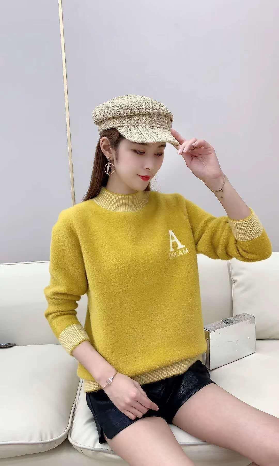 黄金貂羊毛衫一件代发/批发